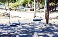 swing time catania wooden rope swing stock image image of chair hang alone