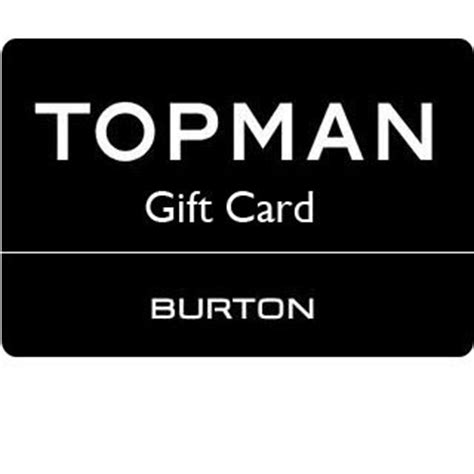 Topman Gift Card - topman gift vouchers allgifts ie