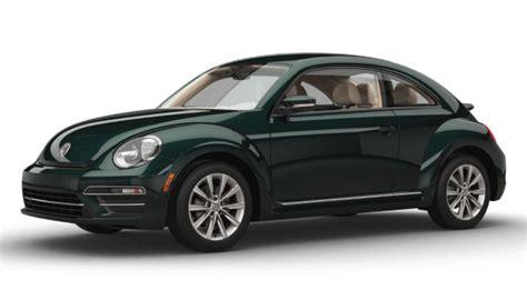 green volkswagen beetle 2016 2017 volkswagen beetle interior and exterior color options