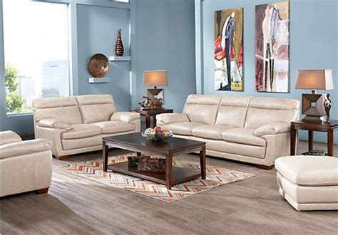 rooms to go living room sets shop for a cindy crawford home casa moderna beige 3 pc