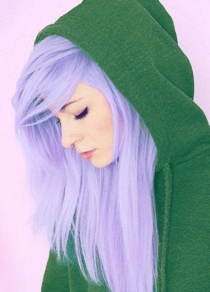 pretty in pink and purple on pinterest lilacs 23 vibrant lavender 43 girls rocking pastel hair