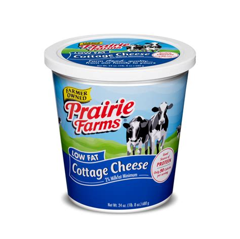nutrition cottage cheese prairie farms low cottage cheese nutrition facts