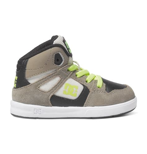 toddler high top shoes dc shoes toddler s rebound ul high top shoes 320167 ebay