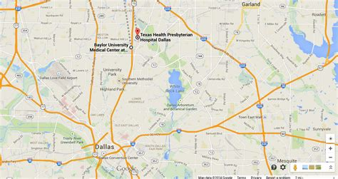 map of hospitals in texas dallas tx possible ebola patient at baylor hospital in texas has positive screening but gets