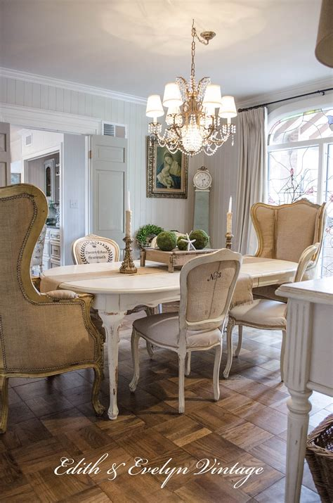 Dining Room In French french grain sack dining chairs edith amp evelyn
