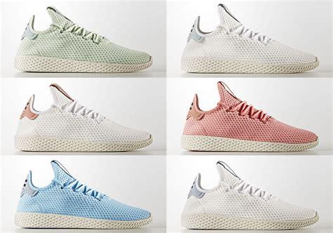 pharrell adidas tennis hu august 2017 releases sneakernews