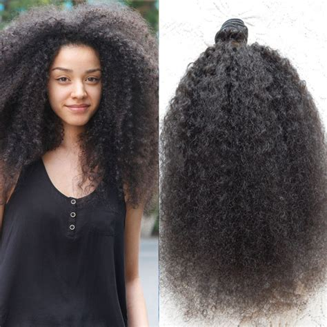 afro hairstyles extensions afro kinky curly hair extensions triple weft hair extensions