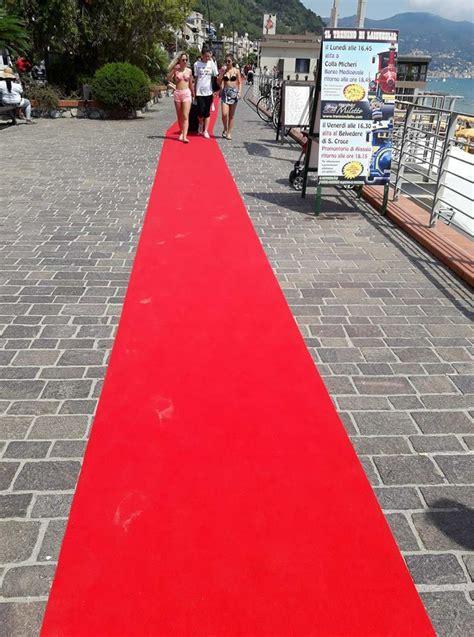 tappeto rosso per le strade della liguria i carpet pi 249 belli