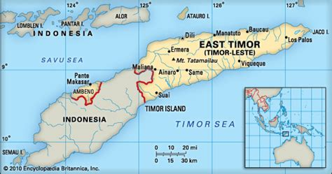 east timor location on world map east timor location encyclopedia children s