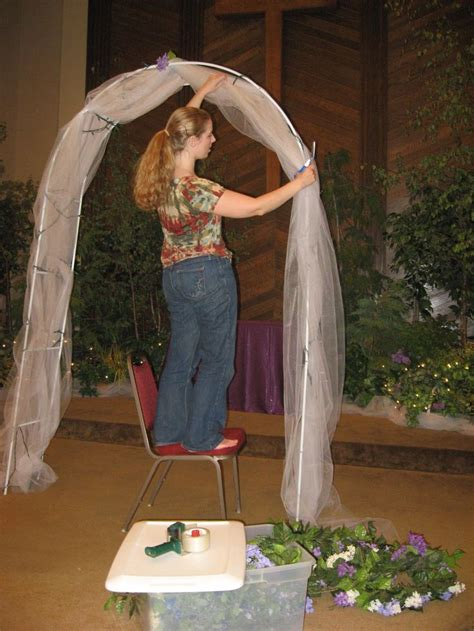 Wedding Arch Already Decorated by Pin By Dellinger Tuohey On Weddings