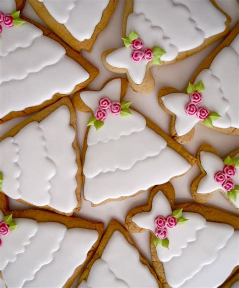 Bridal Shower Favors Cookies by Oh Sugar Events Cookie Bridal Shower Favors