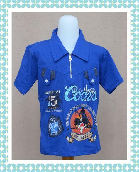 Kaos Anak Murah Bandung pusat grosir baju anak 5000 murah di bandung kaos krah minerva anak baju3500