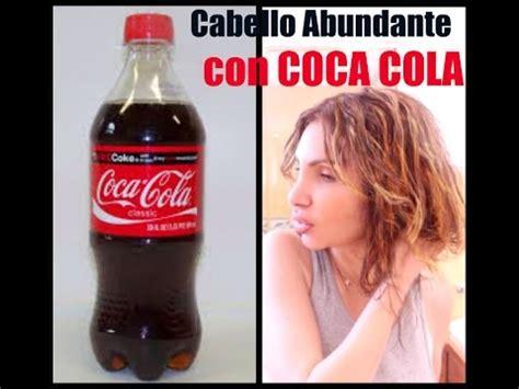 rinsing hair with coca cola cabello abundante con coca cola coca cola hair rinse