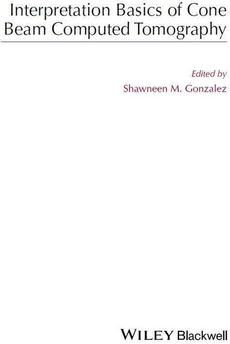 Cd E Book Interpretation Basics Of Cone Beam Computed Tomography interpretation basics of cone beam computed tomography