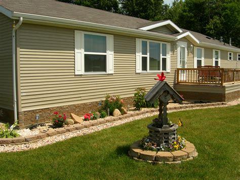 mobile home landscaping landscape channel