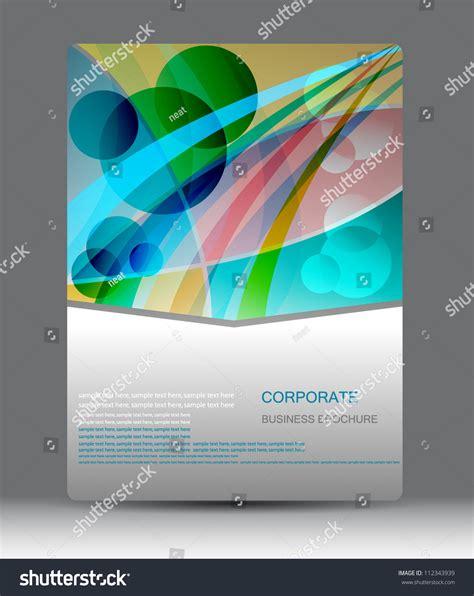 creative flyer design vector creative flyer business brochure design stock vector