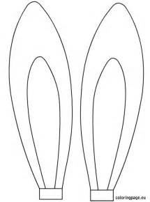 bunny ears template pdf easter rabbit ears template easter easter