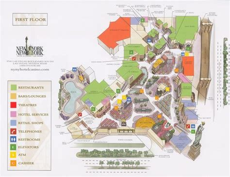 Canal shoppes map