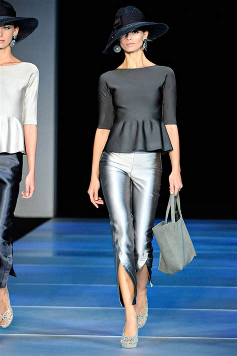 Catwalk To Carpet In Giorgio Armani by Giorgio Armani Summer 2012 Searching For Style