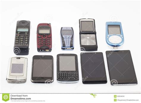 new smart mobile phones and new mobile phones smartphone stock photo image