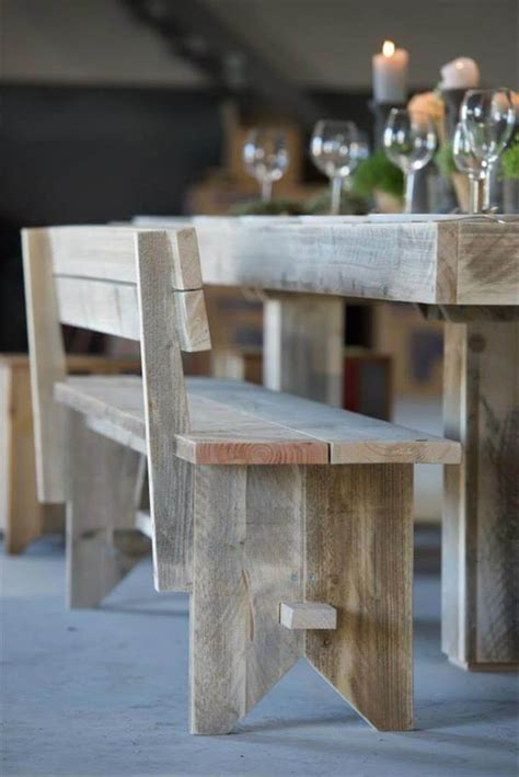 upcycled dining room table simple wood pallet dining table set