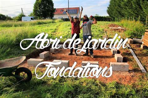 abri jardin bois 649 fondations et dalle bois premi 232 re partie abri de jardin