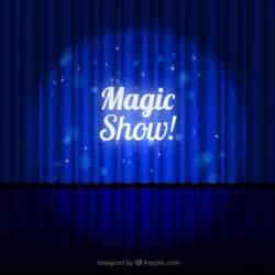 free show templates magic show vector free