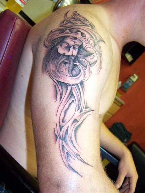 tribal aquarius tattoos for guys aquarius tattoos designs ideas and meaning tattoos for you