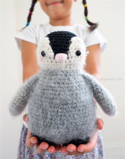 amigurumi penguin baby penguin amigurumi crochet pattern one woof