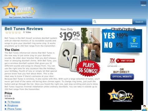 Tune Bell bell tunes reviews to be true