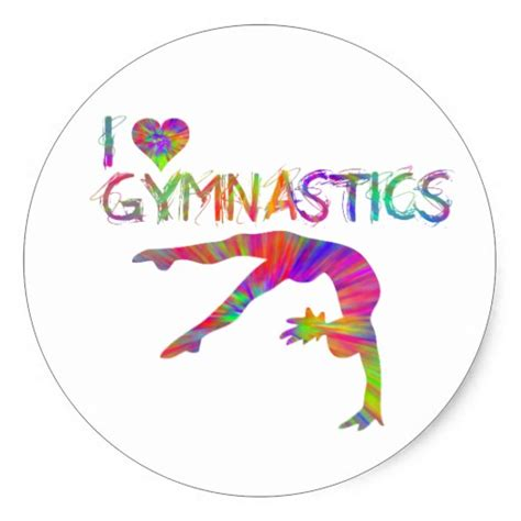 printable gymnastics stickers i love gymnastics free coloring pages