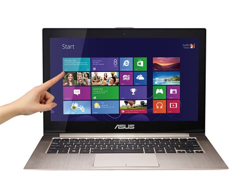 computer asus touch screen asus zenbook prime touch screen ultrabook ux31a c4033p