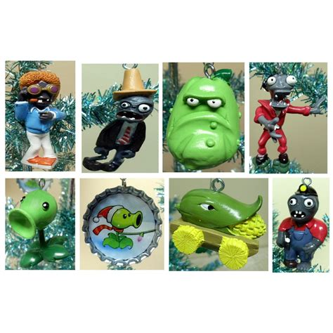 plants vs zombies christmas ornaments christmas decore
