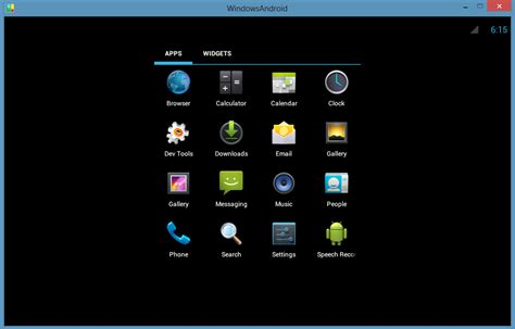 android emulators for pc 1 menggunakan os android v4 0 atau sandwich