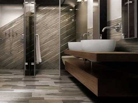 Modern Bathroom Floor Italian Ceramic Granite Floor Tiles From Cerdomus Imitating Wood Flooring