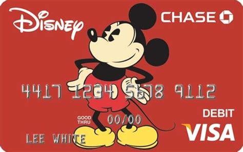Chase Visa Debit Gift Card - chase rolls out disney visa debit card the disney blog