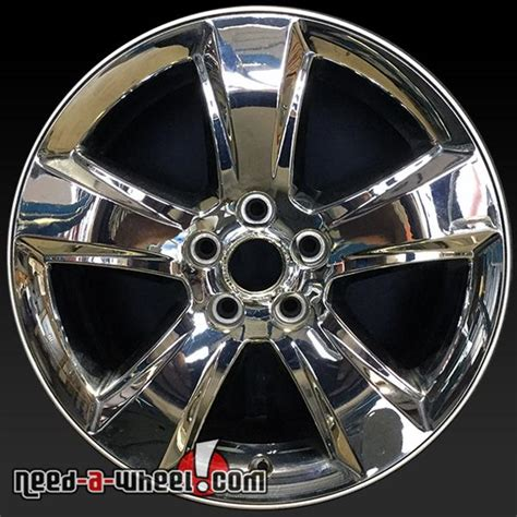 jeep wheels and tires chrome 18 quot dodge caliber jeep compass wheels oem 2010 13 chrome