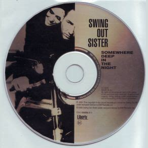 swing out sister somewhere deep in the night somewhere deep in the night swing out sister comprar mp3