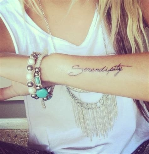 serendipity tattoo serendipity quotes quotesgram
