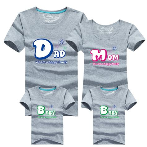 Matching Shirts In Stores Aliexpress Buy 1piece Fashion Family Matching