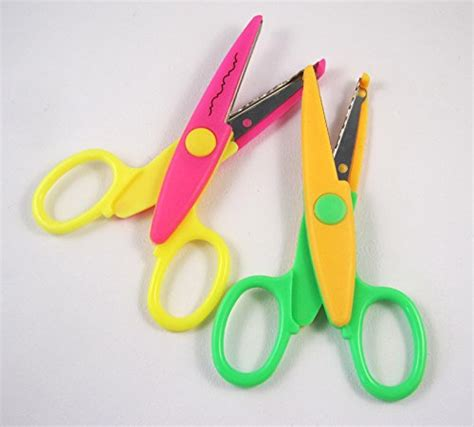 assorted decorative edge scissors 5 inch length creative scissors decorative wave lace edge