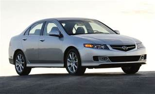 08 Acura Tsx Car And Driver