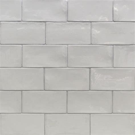 splashback tile catalina gris 3 in x 6 in x 8 mm ceramic wall subway tile catalina3x6gris