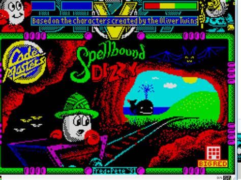 Emuparadise Zx Spectrum | dizzy v spellbound dizzy 1991 codemasters 128k rom