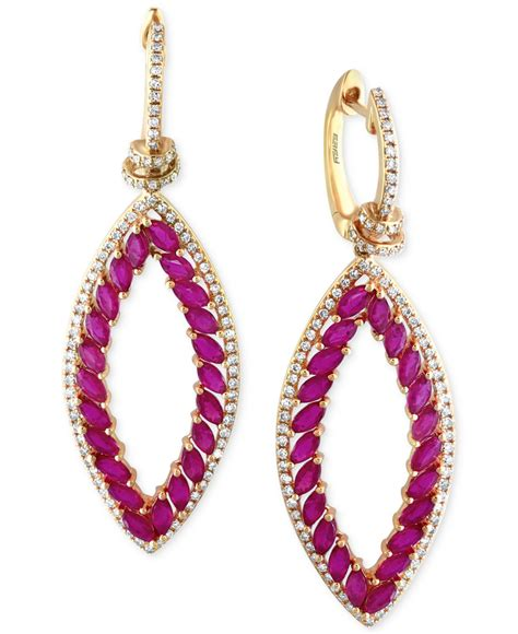 Ruby 5 5ct effy collection effy ruby 5 ct t w and 3 4 ct