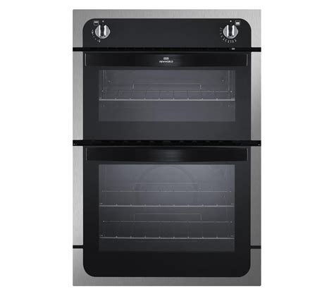 Oven Gas Stainless buy new world nw901g gas oven black stainless steel free delivery currys
