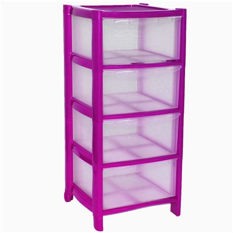4 Drawer Plastic by 4 Drawer Plastic Large Tower Cabinet Drawers Chest Unit