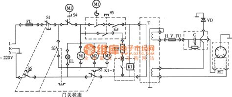 microwave oven circuit diagram microwave ovens