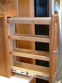 kitchen cabinet spice rack slide perhaps a pull out spice rack kitchen pinterest