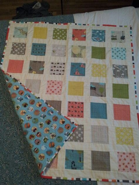 Seattle Quilt Company by Bluebird Park By Moda Baby Quilt I Made Elise West